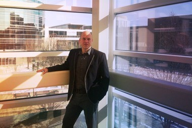 Richey Piiparinen now has his own research center at Cleveland State University in which to study and impact the region's population patterns