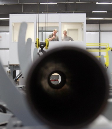 Engineers at Mesocoat in Euclid turned to NASA scientists and the Adopt a City program for help with a new space-aged process for coating pipes.