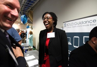At FlashStarts, founders like Nichelle McCall of BOLD Guidance get help accelerating the growth of their business. She showcased her company at FlashStarts Demo Day in September.
