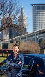 James Ondrey, general manager of Uber Ohio, which launched its service in Cleveland on April 9.