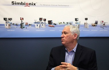 Simbionix CEO Gary Zamler said the company will continue to operate in Cleveland.