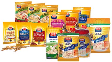 J.M. Smucker's Seamild oatmeal products in China