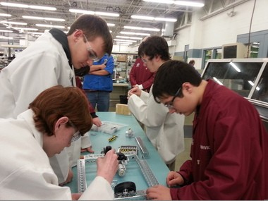 About 100 companies in Northeast Ohio are part of a grassroots group of manufacturers that work together to promote careers in the field. The Alliance for Working Together Foundation works with high school students to help them design and develop combat robots as a tool to spark interest in manufacturing.