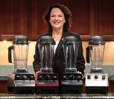 Vitamix CEO Jodi Berg, the great-granddaughter of the company founder, sees continued growth in a smoothie-loving world.