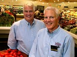 Tom Heinen, left, and his brother, Jeff Heinen, whose grandfather opened the first Heinen's butcher shop in 1929, will welcome shoppers to their first downtown Cleveland store on Wednesday, Feb. 25.