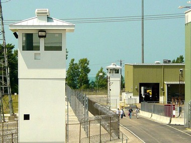 Multiple physical installations including manned guard towers, layers of fencing and concrete barriers protect the Perry Nuclear Power Plant where gunman Muhammad Youssef Abdulazeez tried to get a job in 2013.