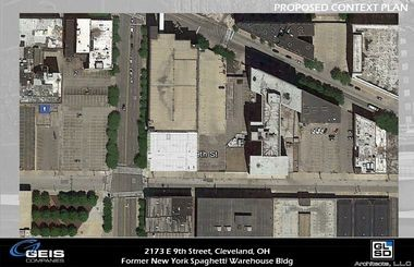 The Geis Cos. hopes to expand a parking lot on the New York Spaghetti House site, but the developer says parking isn't a long-term plan for the high-profile downtown property.