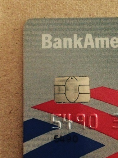 The little metallic box on a new credit or debit card tells you it contains an EMV chip.