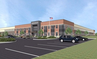Arhaus furniture's $43 million headquarters will be the largest corporate headquarters in the Village of Boston Heights, Ohio.