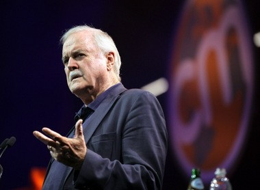"""John Cleese, of """"Monty Python's Flying Circus"""" fame, tells Content Marketing World 2015 attendees about how to nurture greater creativity."""