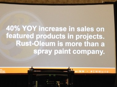 "Rust-Oleum's ""1,000 Projects"" content marketing campaign increased sales by 40 percent on the products featured in its projects, said Lisa Bialecki, the company's senior director of integrated communications."