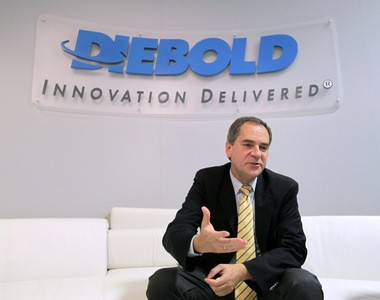 Diebold President and CEO Andy Mattes