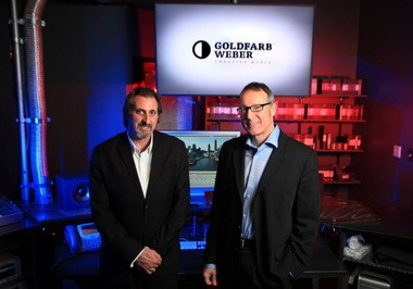 Tony Weber, right, and Ron Goldfarb, rebranded their video production company from Glazen Creative Studios to Goldfarb Weber Creative Studios on Feb. 28, 2014. They created their latest and most powerful video for the children at the Diversity Center of Northeast Ohio.