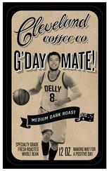Matthew Dellavedova's G'Day Mate Coffee, by the Cleveland Coffee Co.