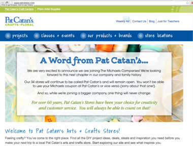 photo about Pat Catans Coupon Printable named Pat Catans craft shops uncovered through Michaels for $150