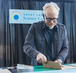 Adam Savage loves making things out of corrugated cardboard.