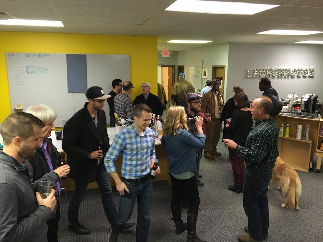 LaunchHouse hosts about 50 programs and events for entrepreneurs each year.