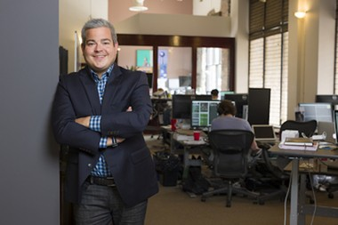 """Matt Scantland, CoverMyMeds Co-Founder and CEO, said Francisco Partners equity firm offered support, thought leadership, and capital to help the company """"grow rapidly and strategically into a business that will continue to have a huge impact and achieve lasting success with McKesson."""" This 2014 file photo of Scantland,was taken at CoverMyMeds in Columbus."""