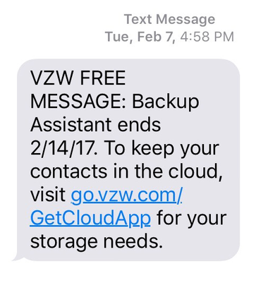 Verizon Cloud causes new data usage problems for some