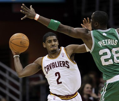 Kyrie Irving is questionable for the Cavaliers heading into tonight's game against Golden State.