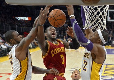 Earl Clark, left, is viewed as a strong defender, something on which new Cavaliers coach Mike Brown places a strong emphasis.