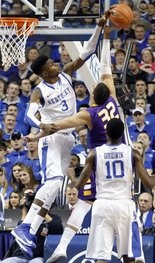 Kentucky's Nerlens Noel is a game changer on defense but a liability on offense.