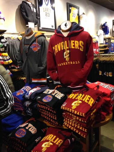 2f5633ee1 LeBron James  jersey a huge seller at NBA Store