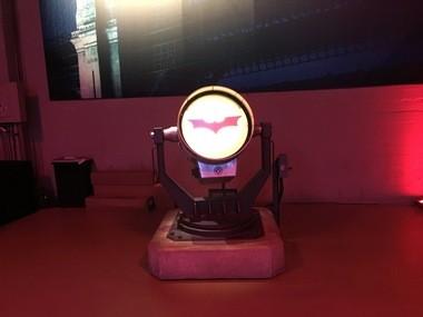 """The real """"Bat Signal."""""""