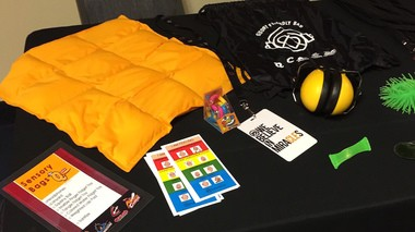 Quicken Loans Arena guests can now check out Sensory Bags that include fidget toys and other accessories to help soothe those suffering from sensory issues.