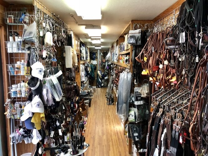 Trucks hold tack shops, where clothing, horses' and riders' equipment, and various other items can be purchased. (Mike Peticca, special to cleveland.com)