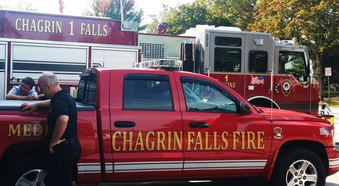 Celebrate First Responders Week Sept. 9-15 in the Chagrin Valley.