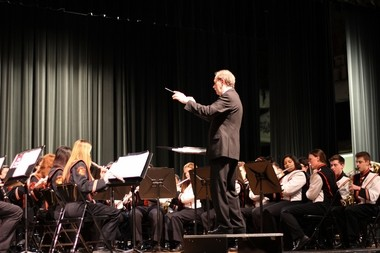 As band director at Orange City Schools Dr. Craig Kepner led the group to perform around the country and Canada and to Disney World ten times.