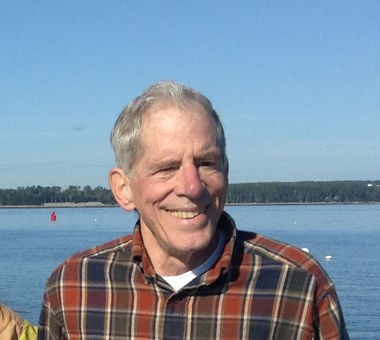 Robert C. Dunbar of Cleveland Heights at the family's century-old vacation home on Bear Island in Maine.