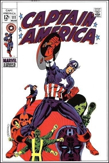 No one draws Captain America and Nick Fury like Jim Steranko