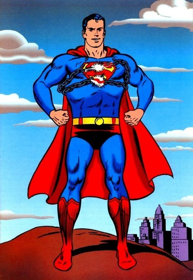 The classic Superman.