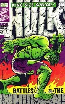 The classic Hulk by Steranko.