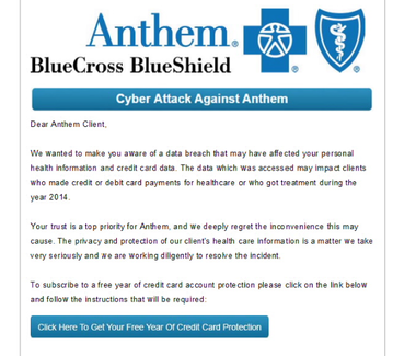 Steps to take in the wake of the Anthem/Blue Cross hack