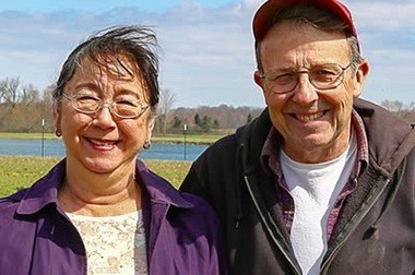 Dawn and Jake Trethewey open their certified organic farm in Auburn Township to a benefit dinner this week. (Photo courtesy of Ohio Ecolological Food and Farm Association)