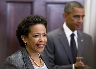 President Obama nominated Loretta Lynch as the next Attorney General at a White House ceremony on Saturday.
