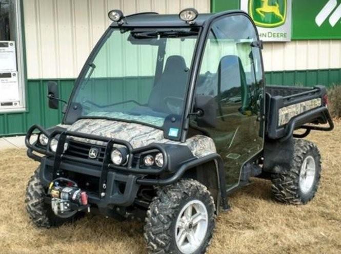 Investigators say Robert Schwerman used Strongsville City Schools money to buy himself this John Deere vehicle.
