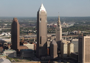 Cleveland's three tallest buildings are, from left, 200 Public Square, the Key Tower and the Terminal Tower.