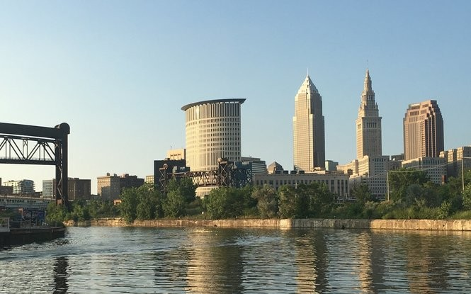 Cleveland's population is estimated at just under 400,000. (Rich Exner, cleveland.com)