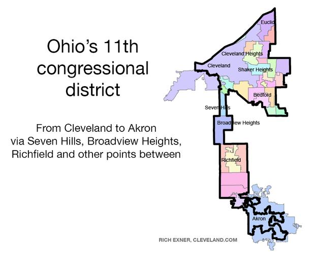 Ohio's 11th congressional district.