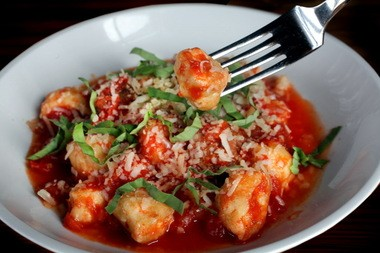 You'll want to mop up the luscious sauce that mingles with plump, tender pasta in chef Chris DiLisi's Ricotta Gnudi, at The Willeyville.