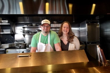 Executive Chef Chris DiLisi and his wife, General Manager Krista DiLisi, run the ship smoothly at The Willeyville in Cleveland's Flats East Bank area.