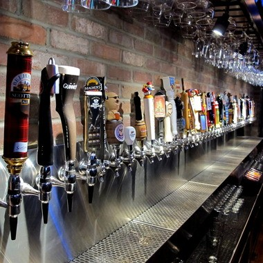 Beers, beers and more beers. The just-opened World of Beer in Lakewood rolls out 540 different bottles of beer to go with more than 50 taps.