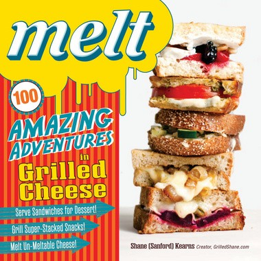 """The cover of """"Melt,"""" by Solon author Shane Kearns."""