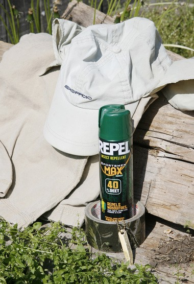 There has been an explosion of ticks in the woods and fields of Ohio this spring. To avoid them, wear light-colored clothing to help see ticks before they can bite, wrap duct tape around your ankles so ticks can't climb inside your pants and wear an insect repellant with DEET to kill ticks. Take along a small, inexpensive tick remover like the gold Pro Tick Remedy, which properly removes a tick that has buried its snout in your skin.