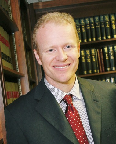 Jon Ginter, attorney and founder of the law offices of Jon Ginter, LLC | George Shuba Photography