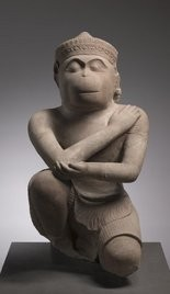 The Cleveland Museum of Art's ancient Cambodian Hanuman sculpture